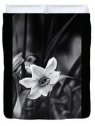 Narcissus In The Shadows Duvet Cover