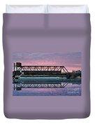 Narooma Bridge Duvet Cover