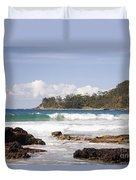 Narrawallee Beach On The South Coast Of New South Wales Australia Duvet Cover
