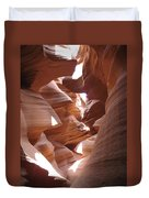 Narrow Canyon I Duvet Cover
