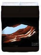 Narrow Canyon Vi Duvet Cover