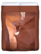 Narrow Canyon Viii - Antelope Canyon Duvet Cover