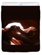 Narrow Canyon X Duvet Cover