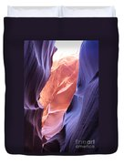 Narrow Canyon Xii Duvet Cover