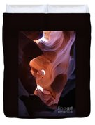 Narrow Canyon Xv Duvet Cover