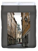 Narrow Road Stockholm Duvet Cover