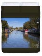 Narrowboats Duvet Cover
