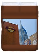 Nashville Downtown Duvet Cover