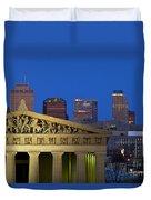Nashville Parthenon Duvet Cover