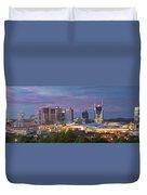 Nashville Skyline Duvet Cover