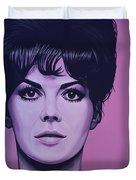 Natalie Wood Duvet Cover by Paul Meijering