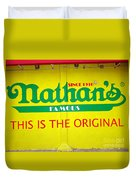 Nathan's Famous Duvet Cover