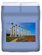 National Capitol Columns Duvet Cover