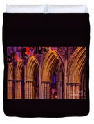 National Cathedral Arches Duvet Cover