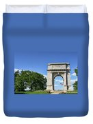 National Memorial Arch At Valley Forge Duvet Cover
