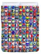 Nations United Duvet Cover