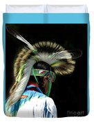 Native American Boy Duvet Cover