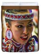 Native American Princess Duvet Cover