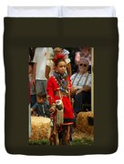 Native American Youth Dancer Duvet Cover