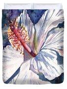 Native Hawaiian Hibiscus Duvet Cover