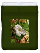 Native Trillium Duvet Cover