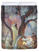 Nativity Duvet Cover by Frederic Montenard
