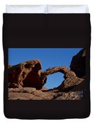 Natural Arch Valley Of Fire State Park Nevada Duvet Cover