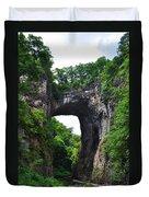 Natural Bridge In Rockbridge County Virginia Duvet Cover