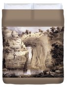 Natural Bridge, Rockbridge County Duvet Cover