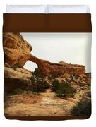 Natural Bridge Southern Utah Duvet Cover