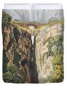 Natural Bridge, Valle Dicononzo Duvet Cover