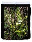 Natural Emeralds. I Wicklow. Ireland Duvet Cover