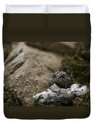 Natural Expression Of A Fowler Toad  Duvet Cover
