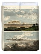 Natural History Of The Clouds Duvet Cover