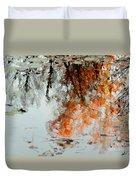 Natural Paint Daubs Duvet Cover