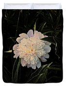 Natural Peony Duvet Cover