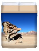 Natural Rock Sculpture Duvet Cover