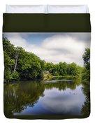 Nature Center On Salt Creek Duvet Cover