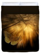 Nature Does Not Hurry Follow The Light Duvet Cover