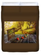 Nature Exhibition Duvet Cover