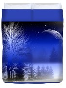 Nature In Blue  Duvet Cover