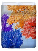 Nature In Its New Colors Duvet Cover