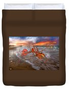 Nature Of The Game Duvet Cover