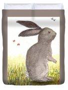 Nature Wild Rabbit Duvet Cover