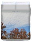 Nature's Brush Strokes Duvet Cover