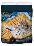 Nature's Calendar Duvet Cover