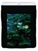 Nature's Christmas Tree Duvet Cover