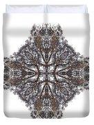 Nature's Filigree Duvet Cover