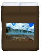 Natures Hot Tub Duvet Cover