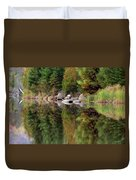 Natures Reflection Duvet Cover by Mark Papke